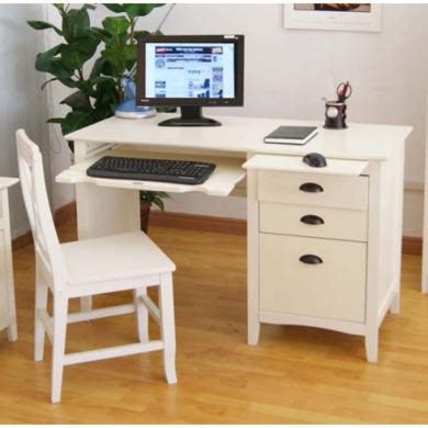 desk chair set maine white computer desk and chair set furniture123