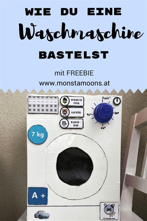 waschmaschine mit waschmittel wie du eine waschmaschine zum spielen bastelst krabice