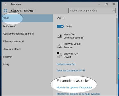 comment connecter un ordinateur de bureau en wifi windows 10 comment retrouver un mot de passe wifi