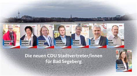 Unschlagbar Bad Segeberg by Cdu Stadtverband Bad Segeberg