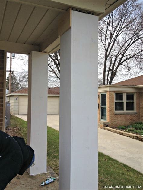 wrap wrought iron porch columns shapeyourmindscom