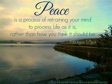 Peace Wayne Dyer Quotes. QuotesGram