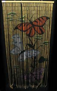 bamboo beaded door curtain wooden blinds fly screen