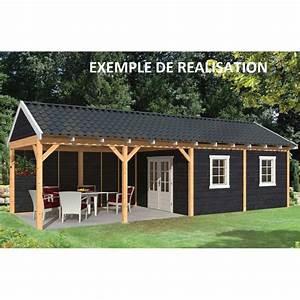 Garage Bois 40m2 : carport abri de jardin maison design ~ Melissatoandfro.com Idées de Décoration