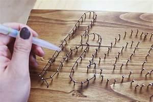 Bild Mit Nägeln Und Faden : meine kleine bunte welt diy fadenbild string art ~ Frokenaadalensverden.com Haus und Dekorationen