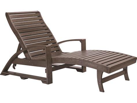chaise longue plastique c r plastic st tropez chaise lounge with wheels l38
