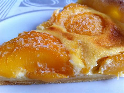 tarte aux p 234 ches et noix de coco recettes de desserts