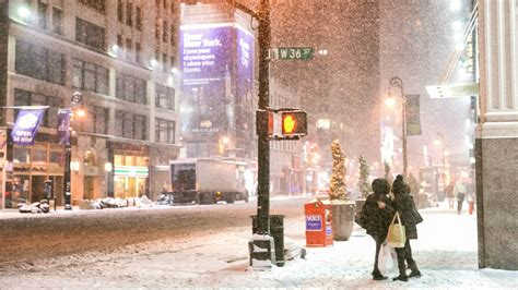 Winter New York Wallpaper 1920x1080 by Winter Snowfall In New York Wallpapers And Images