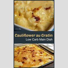 Cauliflower Au Gratin Low Carb