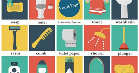 synonyms for going to bathroom vocabularypage bathroom vocabulary