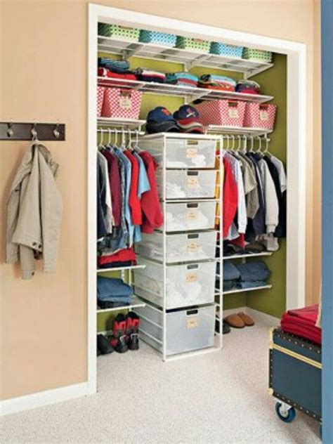 organizing ideas for closet organizing spaces tips