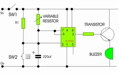 555 Timer Circuit Works Examination Questions
