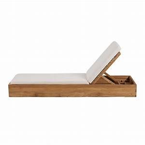 Bain De Soleil En Bois : bain de soleil en teck maison design ~ Teatrodelosmanantiales.com Idées de Décoration