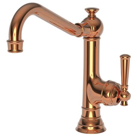 copper faucets kitchen faucet com 2470 5303 08 in polished copper by newport brass
