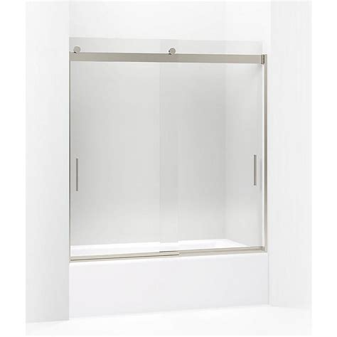 kohler levity shower door review kohler levity 59 625 in w x 62 in h frameless sliding