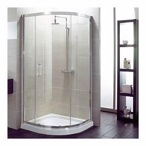 Guide comment choisir sa porte et sa paroi de douche for Porte de douche coulissante avec meuble arrondi salle de bain