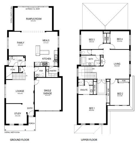 home plans for small lots floor plans for small lots