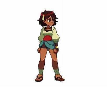 Indivisible Skullgirls Rpg Character Ajna Animation Gifs