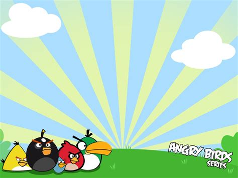 angry bird powerpoint templates