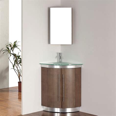 corner vanity top sink corner vanity set solution for small space homesfeed