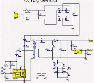 How To Make A Simple 12 V  1 Amp Switch Mode Power Supply
