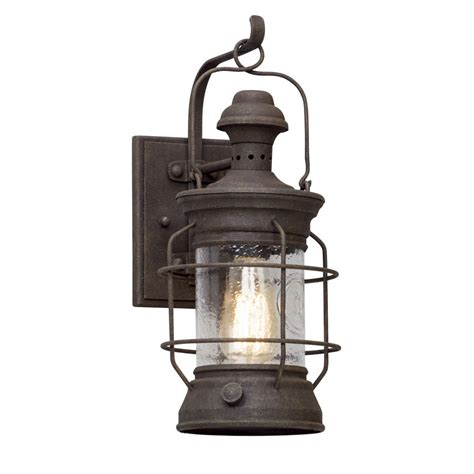 rust free outdoor lighting troy lighting atkins centennial rust outdoor wall light