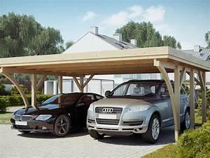 Carport 2 Voitures Bois : carport bois un abri voiture pour tous abri chalet ~ Dailycaller-alerts.com Idées de Décoration