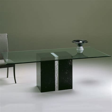 marble glass dining table artina marble and glass rectangular dining table robson