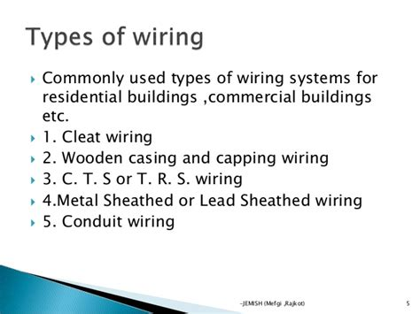 electrical wiring by jemish