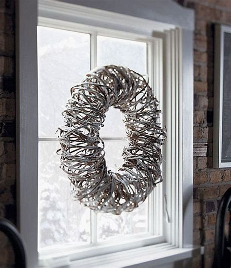 white grapevine wreaths ideas images industrial
