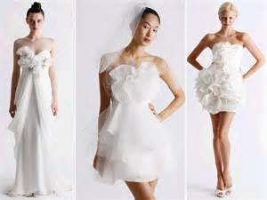 reception dresses for wedding flirty white wedding dresses and reception dresses by marchesa onewed