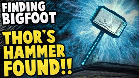 finding bigfoot thor 39 s hammer captured bigfoot 100
