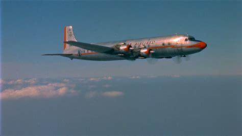 douglas dc  aeroplane  hd stock video footage