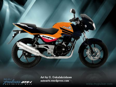 bajaj pulsar modified auto arts