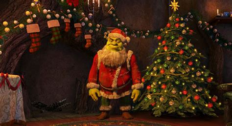welcome to the film review blogs shrek the halls