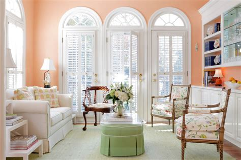 Soft Peach Color Walls For Sophisticated Interior Look Bathroom Crown Molding Ideas Home Depot Tile Calculator Bathrooms 2014 Cheap Design Black And White Designs Of Tiles Half Tiled Painted