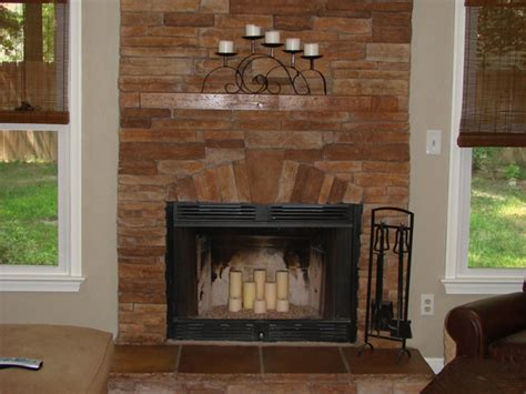 stacked tile fireplace stacked stone fireplace pictures and ideas
