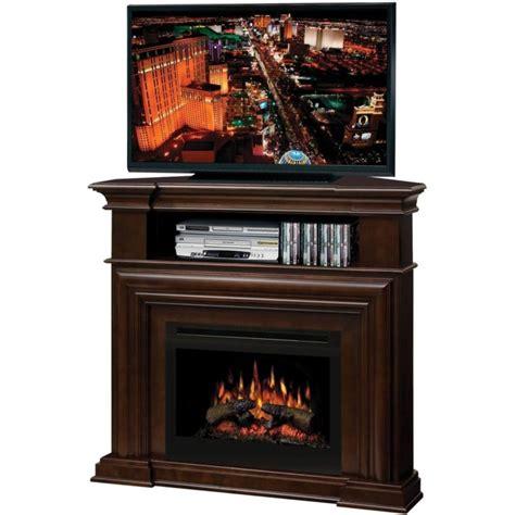 electric fireplace media cabinet furniture brown wooden corner electric fireplace media