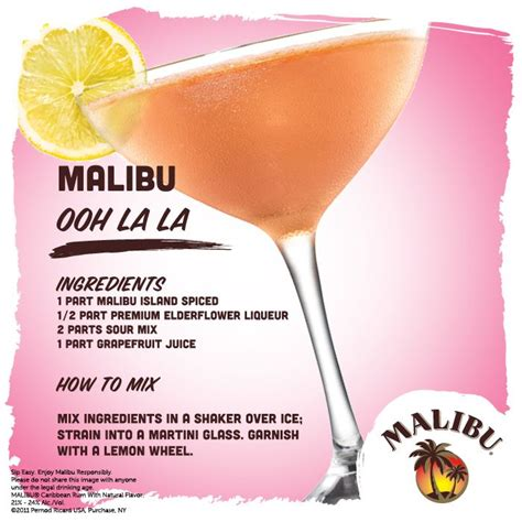 View the latest malibu rum prices from the largest national retailers near you and read about the best malibu rum mixed drink malibu rum prices & buyers' guide. 17 Best images about Malibu Cocktail Creations on ...