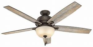 Quot bronze brown ceiling fan donegan bowl light