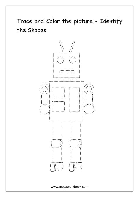 printable identifying shapes worksheets identify