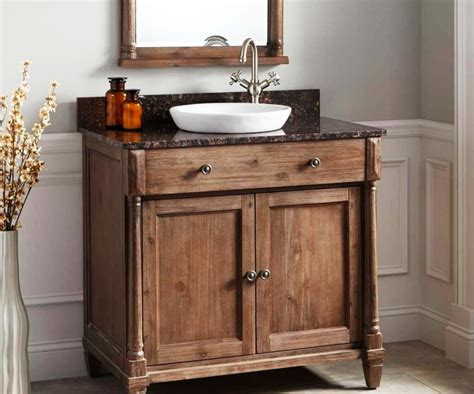 Ideas Rustic Bathroom Vanities