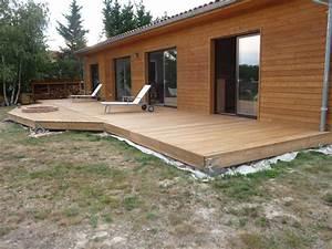 la terrasse en images construire sa terrasse en bois sur With construire sa terrasse bois