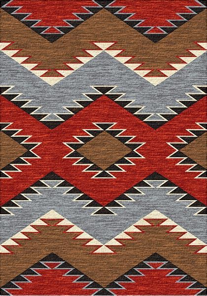 southwest traditions area rug cabin place