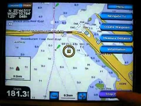 Boat Gps Prices by Garmin Gps Marine Chart Basics With The Gpsmap 5208