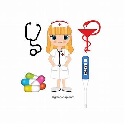 Nurse Clipart Medical Krankenschwester Doctor Health Graphics