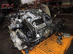 Mitsubishi Pajero 6g74 Engine W Automatic Awd Transmission