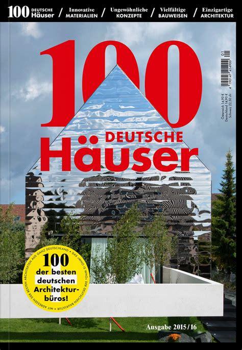Moderne Häuser Buch by 100 Deutsche H 228 User Architekturb 252 Ro Stocker Remshalden