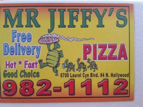 Photos For Mr Jiffy's Pizza & Pasta