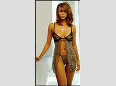 tyra banks hot lingerie leopard black lace Obama Pacman
